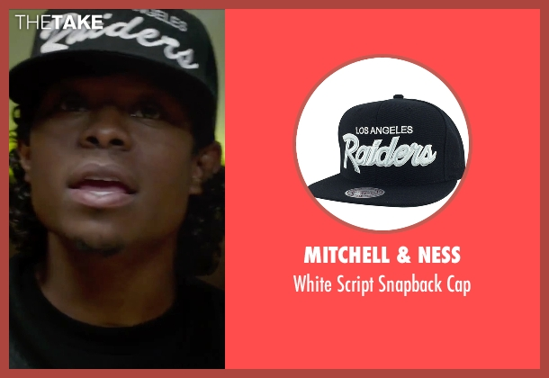 Mitchell & Ness black cap from Straight Outta Compton seen with Jason Mitchell (Eazy-E)