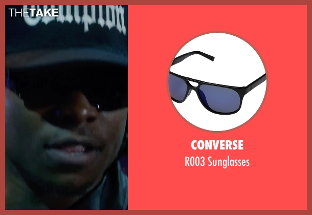 Converse black sunglasses from Straight Outta Compton seen with Jason Mitchell (Eazy-E)