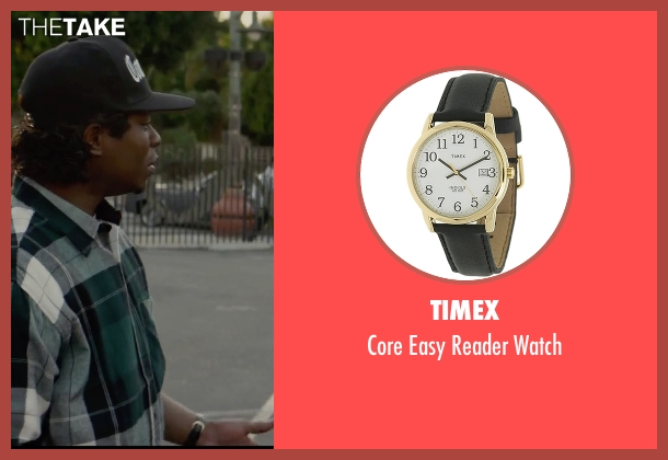 Timex black watch from Straight Outta Compton seen with Jason Mitchell (Eazy-E)