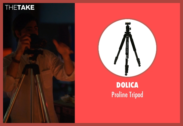 Dolica tripod from The Overnight seen with Jason Schwartzman (Kurt)