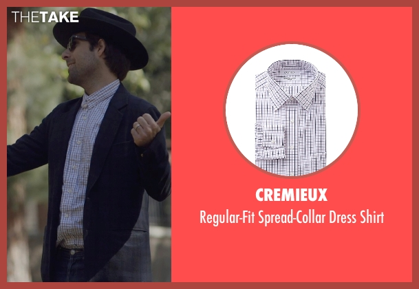 Cremieux white shirt from The Overnight seen with Jason Schwartzman (Kurt)