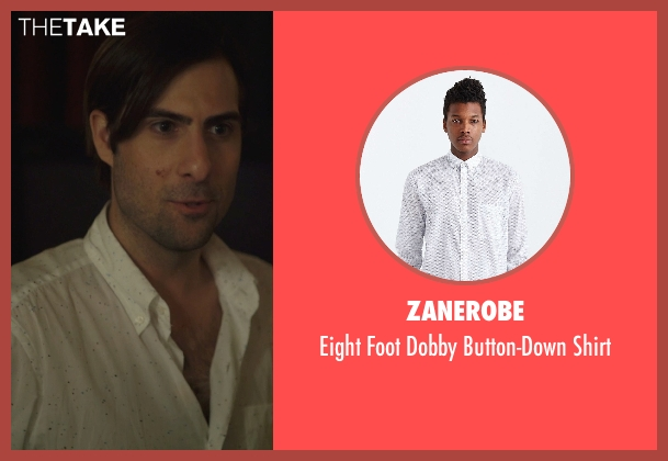 Zanerobe white shirt from The Overnight seen with Jason Schwartzman (Kurt)