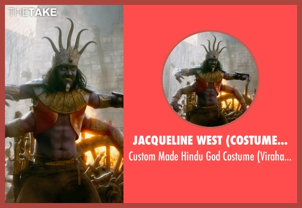 Jacqueline West (Costume Designer) costume from Seventh Son seen with Jason Scott Lee (Virahadra)