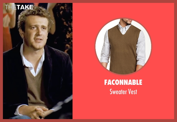 Faconnable brown vest from Forgetting Sarah Marshall seen with Jason Segel (Peter Bretter)