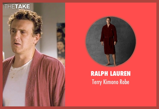 Ralph Lauren red robe from Forgetting Sarah Marshall seen with Jason Segel (Peter Bretter)