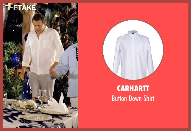 Carhartt  white shirt from Forgetting Sarah Marshall seen with Jason Segel (Peter Bretter)