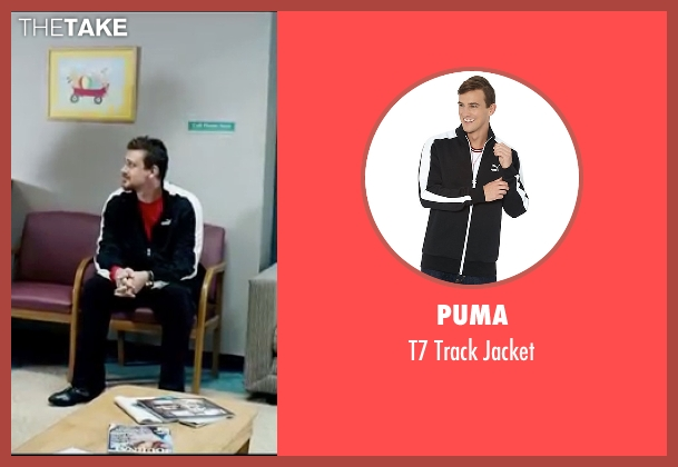 Puma black jacket from Knocked Up seen with Jason Segel (Jason)