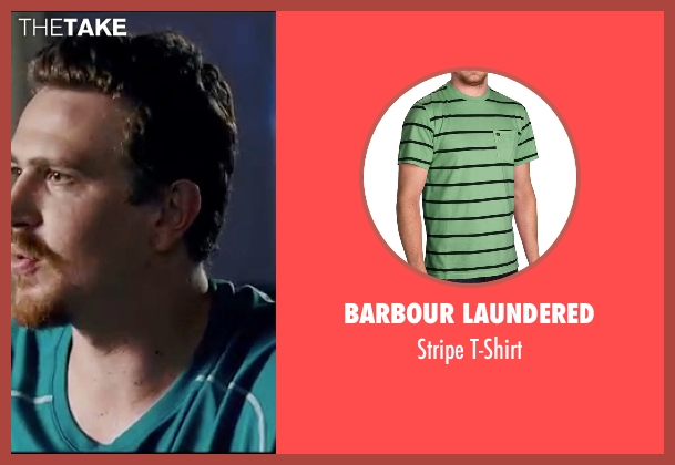 Barbour Laundered green t-shirt from Knocked Up seen with Jason Segel (Jason)