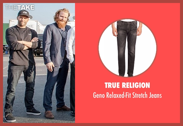 True Religion black jeans from Fast 8 seen with Jason Statham (Deckard Shaw)