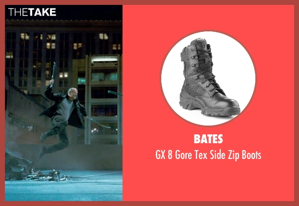 Bates black boots from Furious 7 seen with Jason Statham (Deckard Shaw)
