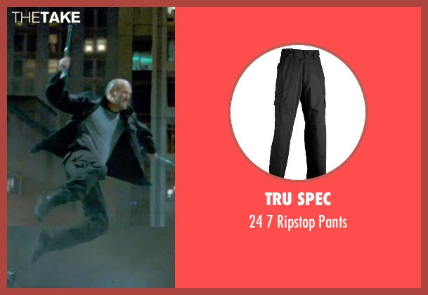 Tru Spec black pants from Furious 7 seen with Jason Statham (Deckard Shaw)