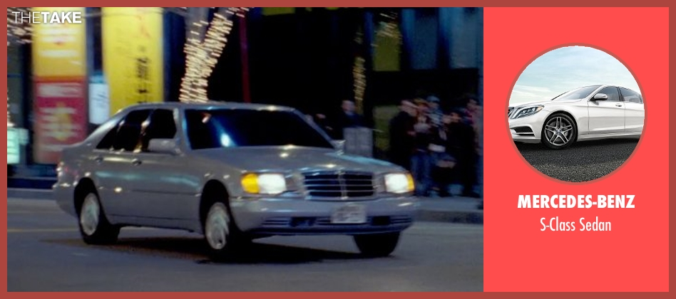 Mercedes-Benz sedan from Furious 7 seen with Jason Statham (Deckard Shaw)
