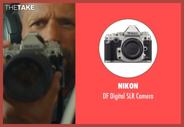 Nikon camera from Mechanic: Resurrection seen with Jason Statham (Arthur Bishop)