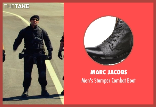 Marc Jacobs black boot from The Expendables 3 seen with Jason Statham (Lee Christmas)