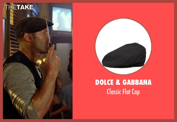 Dolce & Gabbana   black cap from The Expendables 3 seen with Jason Statham (Lee Christmas)