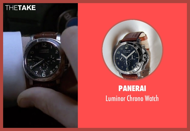 Panerai brown watch from The Transporter seen with Jason Statham (Frank Martin)