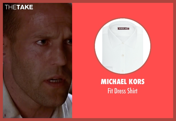 Michael Kors white shirt from The Transporter seen with Jason Statham (Frank Martin)