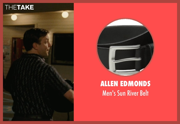 Allen Edmonds black belt from Hall Pass seen with Jason Sudeikis (Fred)