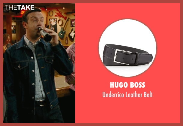 Hugo Boss black belt from Hall Pass seen with Jason Sudeikis (Fred)
