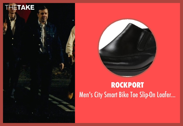 Rockport black shoes from Hall Pass seen with Jason Sudeikis (Fred)