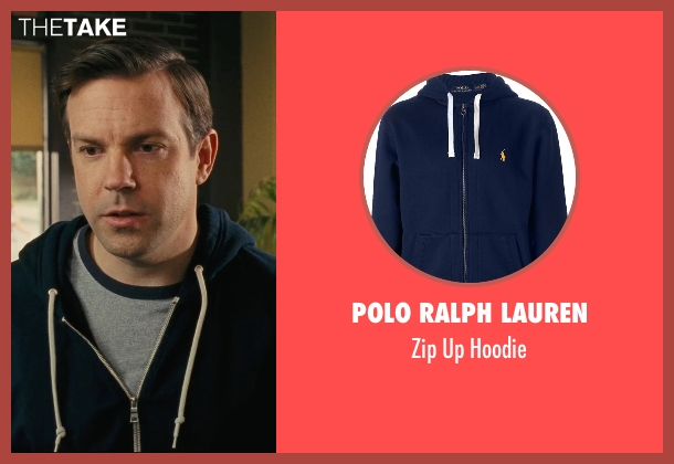 Polo Ralph Lauren blue hoodie from Hall Pass seen with Jason Sudeikis (Fred)