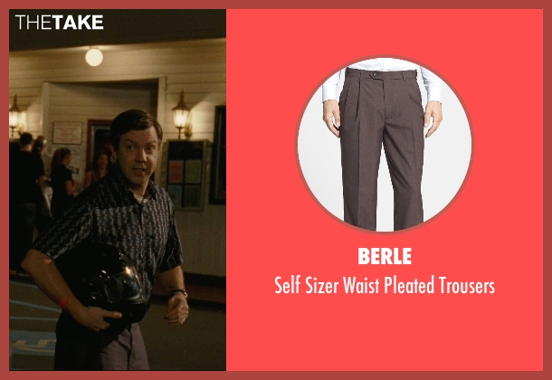 Berle brown trousers from Hall Pass seen with Jason Sudeikis (Fred)