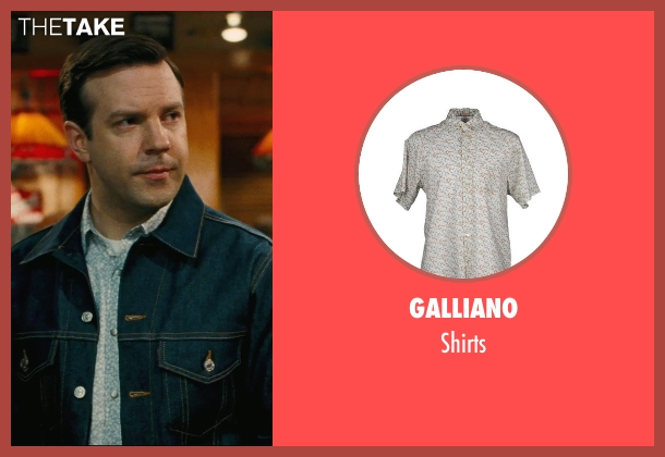 Galliano gray shirts from Hall Pass seen with Jason Sudeikis (Fred)