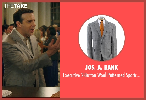 Jos. A. Bank gray sportcoat from Hall Pass seen with Jason Sudeikis (Fred)