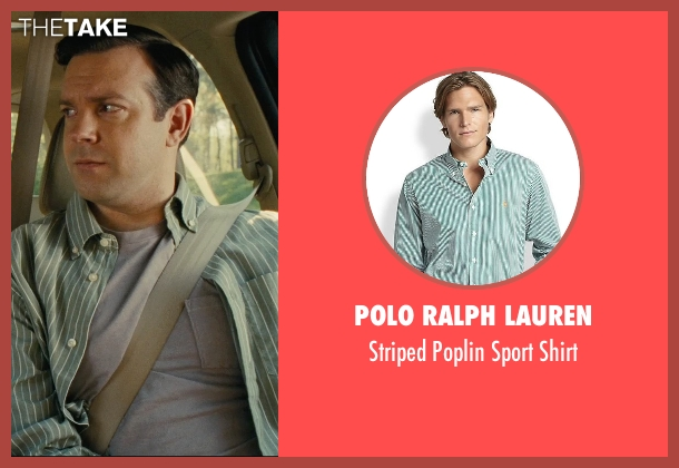 Polo Ralph Lauren green shirt from Hall Pass seen with Jason Sudeikis (Fred)