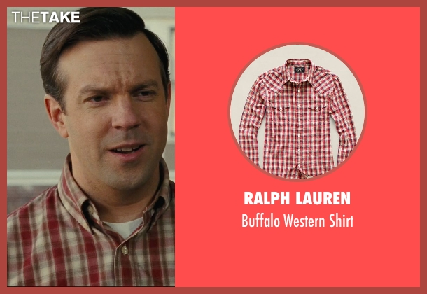 Ralph Lauren red shirt from Hall Pass seen with Jason Sudeikis (Fred)