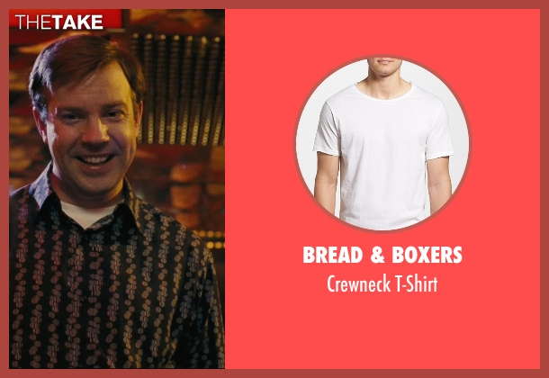 Bread & Boxers white t-shirt from Hall Pass seen with Jason Sudeikis (Fred)