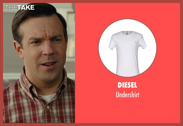 Diesel white undershirt from Hall Pass seen with Jason Sudeikis (Fred)