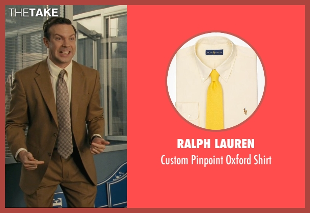 Ralph Lauren yellow shirt from Hall Pass seen with Jason Sudeikis (Fred)
