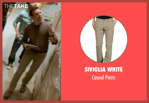 Siviglia White beige pants from Horrible Bosses 2 seen with Jason Sudeikis (Kurt Buckman)