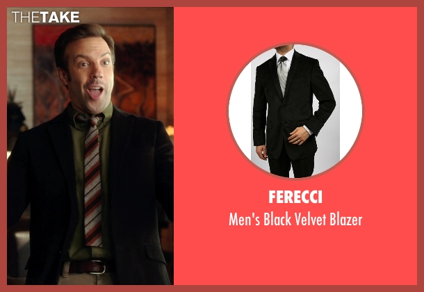Ferecci black blazer from Horrible Bosses 2 seen with Jason Sudeikis (Kurt Buckman)