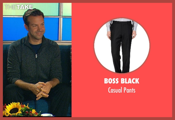Boss Black black pants from Horrible Bosses 2 seen with Jason Sudeikis (Kurt Buckman)