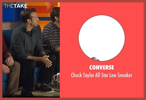 Converse black sneaker from Horrible Bosses 2 seen with Jason Sudeikis (Kurt Buckman)