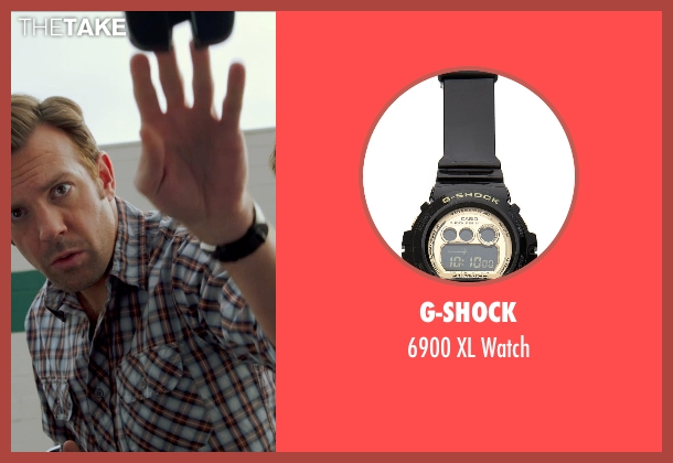 G-Shock black watch from Horrible Bosses 2 seen with Jason Sudeikis (Kurt Buckman)
