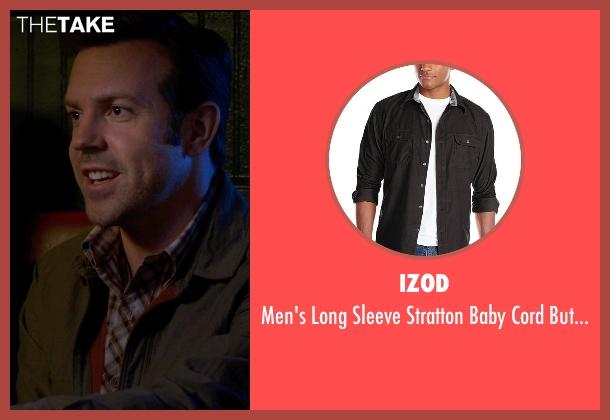 IZOD blue shirt from Horrible Bosses 2 seen with Jason Sudeikis (Kurt Buckman)