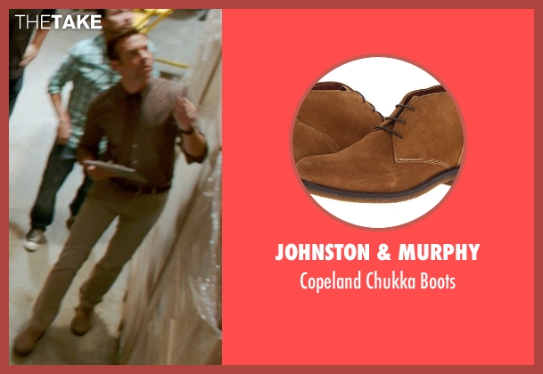 Johnston & Murphy brown boots from Horrible Bosses 2 seen with Jason Sudeikis (Kurt Buckman)