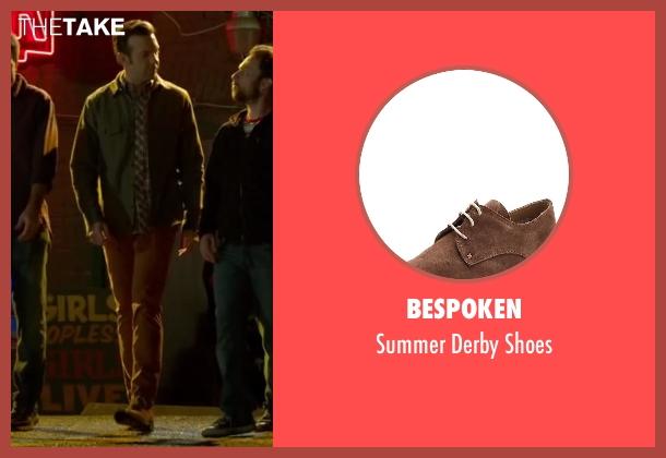 Bespoken brown shoes from Horrible Bosses 2 seen with Jason Sudeikis (Kurt Buckman)