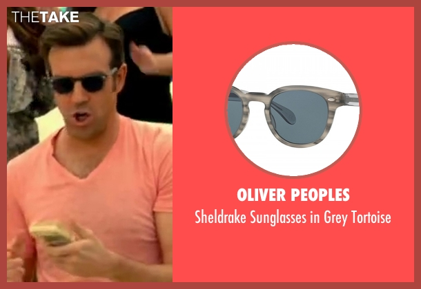 Oliver Peoples gray tortoise from Horrible Bosses 2 seen with Jason Sudeikis (Kurt Buckman)
