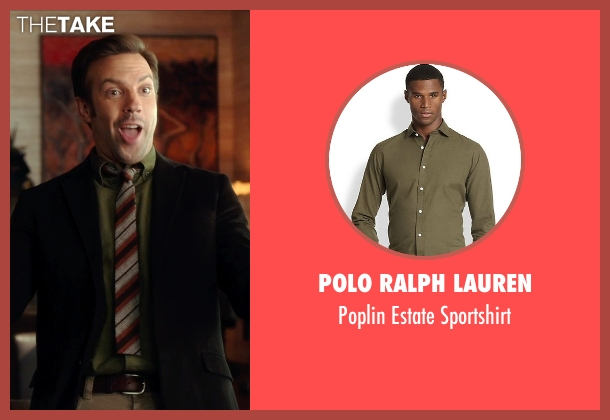 Polo Ralph Lauren green sportshirt from Horrible Bosses 2 seen with Jason Sudeikis (Kurt Buckman)