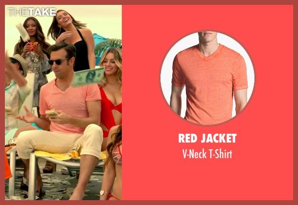 Red Jacket orange t-shirt from Horrible Bosses 2 seen with Jason Sudeikis (Kurt Buckman)