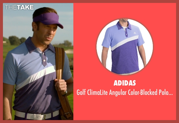 Adidas purple shirt from Horrible Bosses 2 seen with Jason Sudeikis (Kurt Buckman)