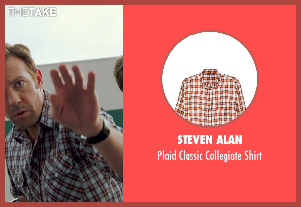 Steven Alan white shirt from Horrible Bosses 2 seen with Jason Sudeikis (Kurt Buckman)