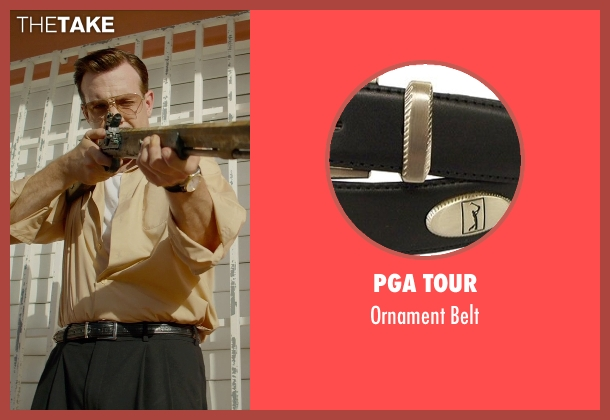 PGA Tour black belt from Masterminds seen with Jason Sudeikis (Mike McKinney)