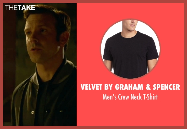 Velvet by Graham & Spencer black t-shirt from Sleeping with Other People seen with Jason Sudeikis (Jake)