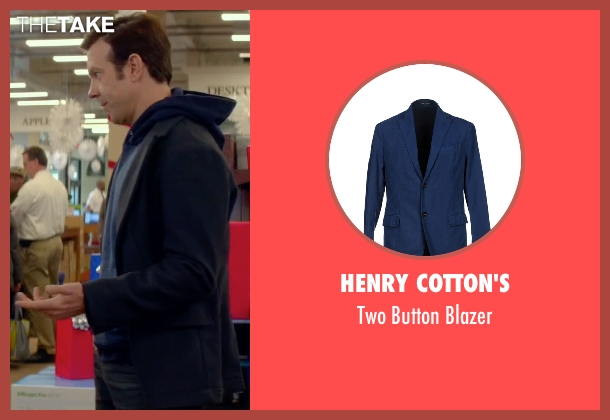 Henry Cotton's blue blazer from Sleeping with Other People seen with Jason Sudeikis (Jake)