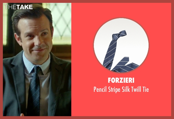 Forzieri blue tie from Sleeping with Other People seen with Jason Sudeikis (Jake)